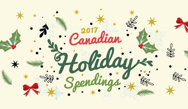 2017 holiday shopping trends in Canada